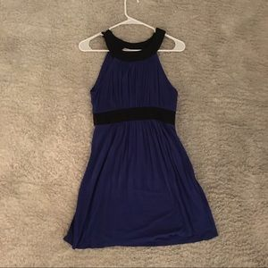 Dark blue and black dress / tunic top